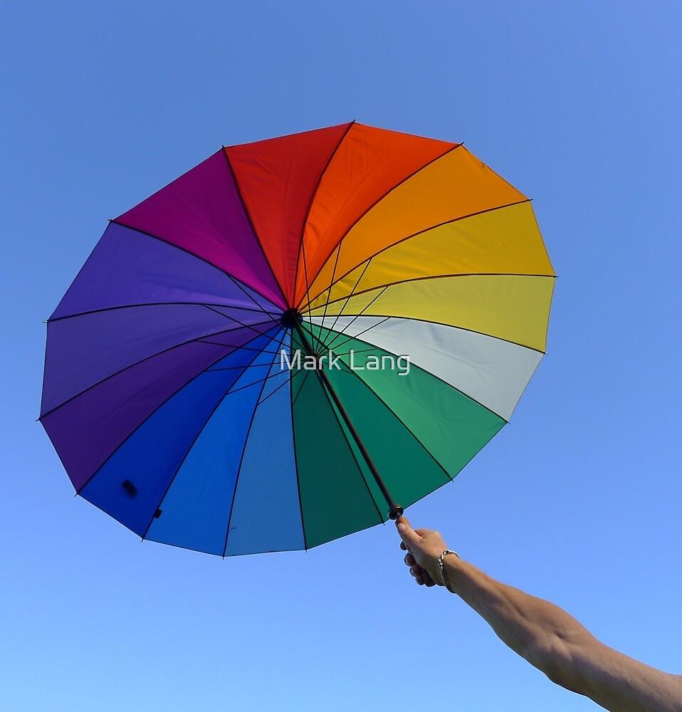 Rainbow Umbrella by Mark Lang