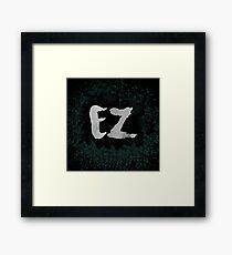 Moba Language - Easy Framed Print