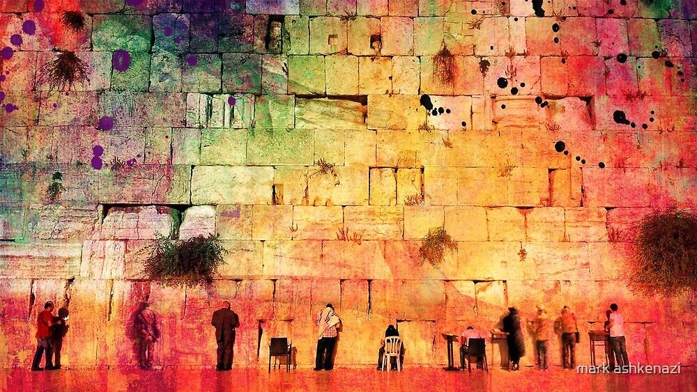 jerusalem wailing wall by mark ashkenazi