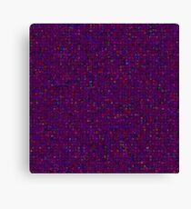 Antique Texture Plum Purple Canvas Print
