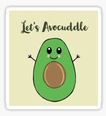 Avocuddle Sticker