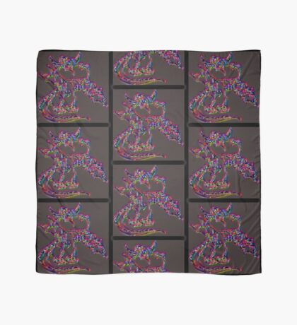 Psychedelic Draco the Dragon Scarf