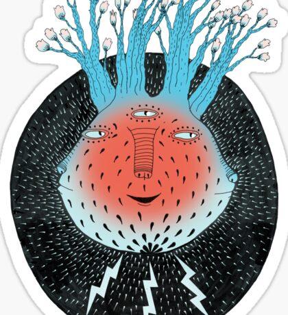 Cosmic Epiphany Heart Sticker