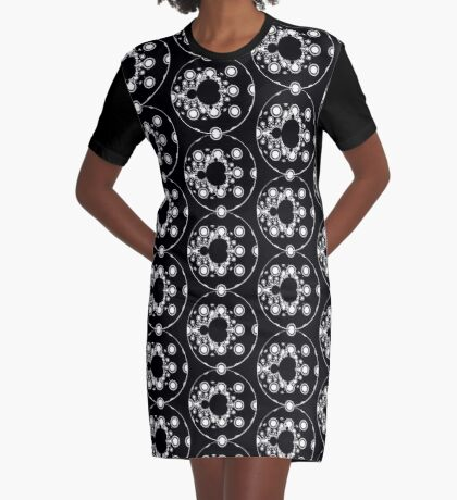 Cartoon V Graphic T-Shirt Dress