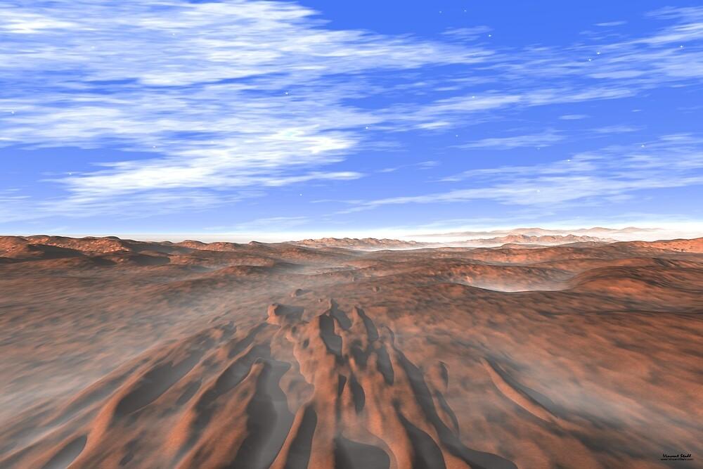 Red Mars Landscape by stahlworks