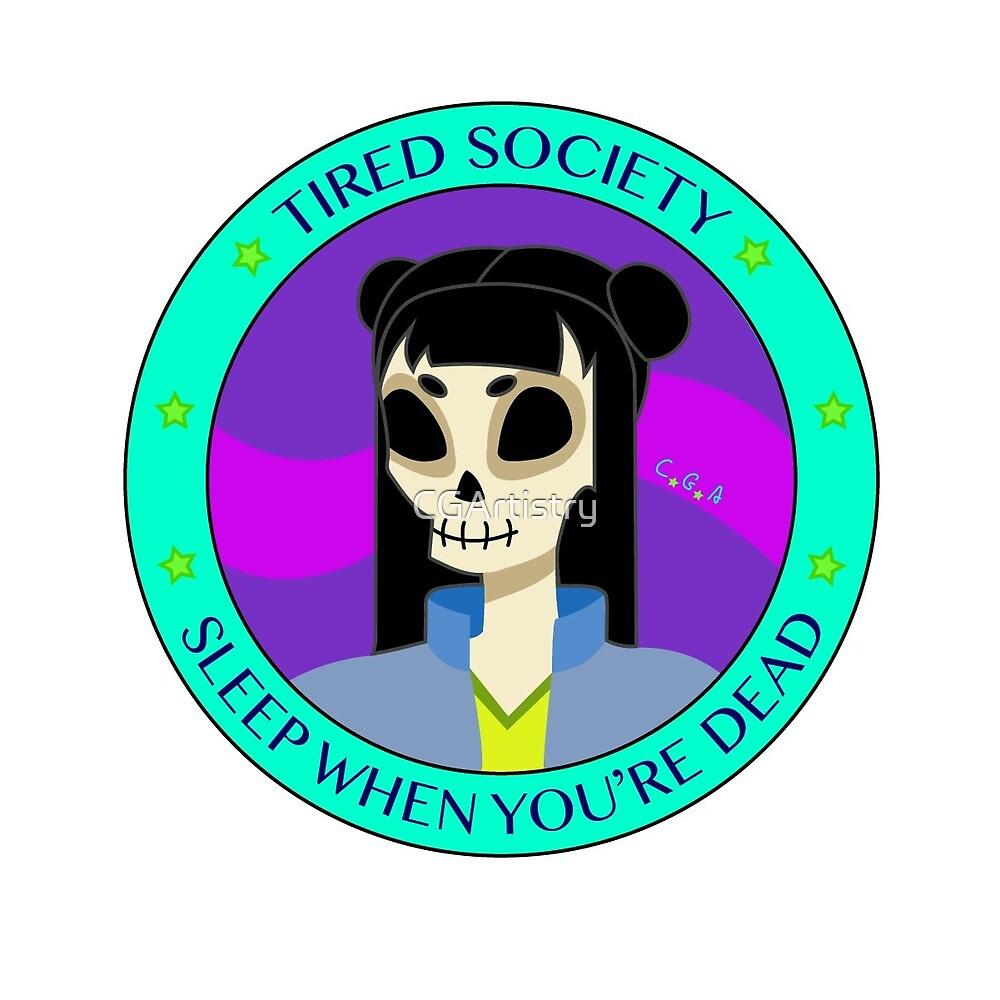 Tired Society by CGArtistry