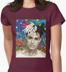 XXXTENTACION FAN ARTWORK Womens Fitted T-Shirt