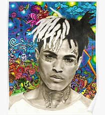 XXXTENTACION FAN ARTWORK Poster