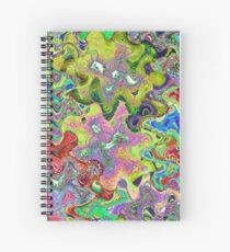 Abstract - #0411A Spiral Notebook