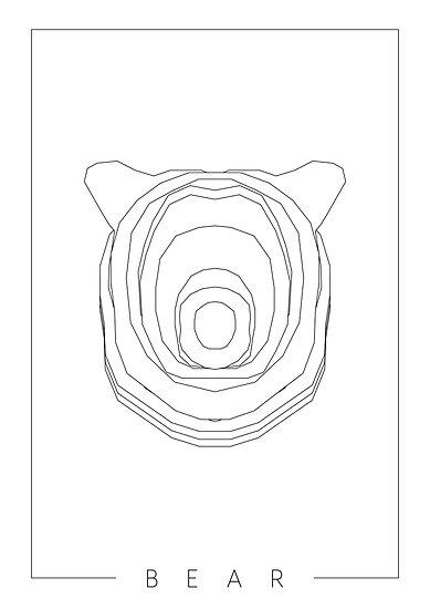 BEAR: White by Linus Häggman