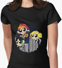 The PowerPuff Girls  Womens Fitted T-Shirt
