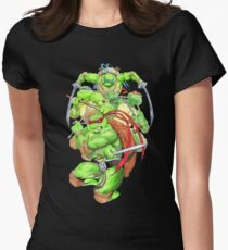 Turtle Brothers TMNT Womens Fitted T-Shirt