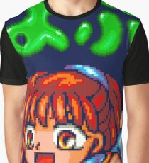 Puyo Puyo (Mega Drive Title Screen) Graphic T-Shirt