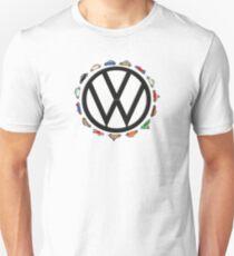 Aircooled VW - Circle of (Beetle) Life T-Shirt