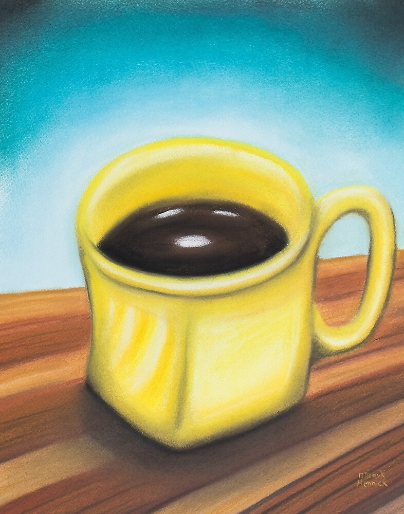 Yellow Coffee Cup by markhennick