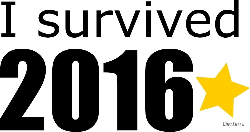 I Survived 2016 by Dexterra