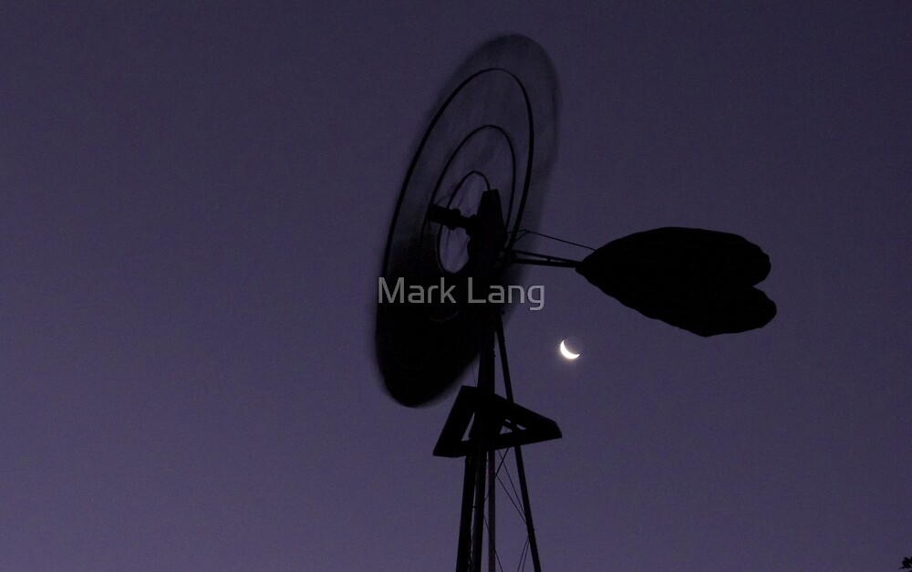 The Windmill and The Moon by Mark Lang