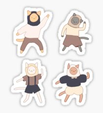 fashion cats! Sticker