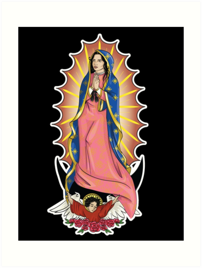 Our Lady of Guadalupe by labrattish