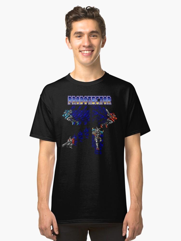 Probotector (Mega Drive Character Lineup) Classic T-Shirt Front