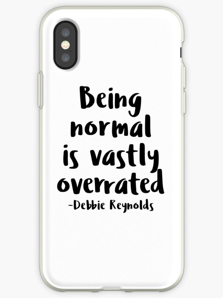 Being normal is vastly overrated - Debbie Reynolds - Halloweentown  by tziggles