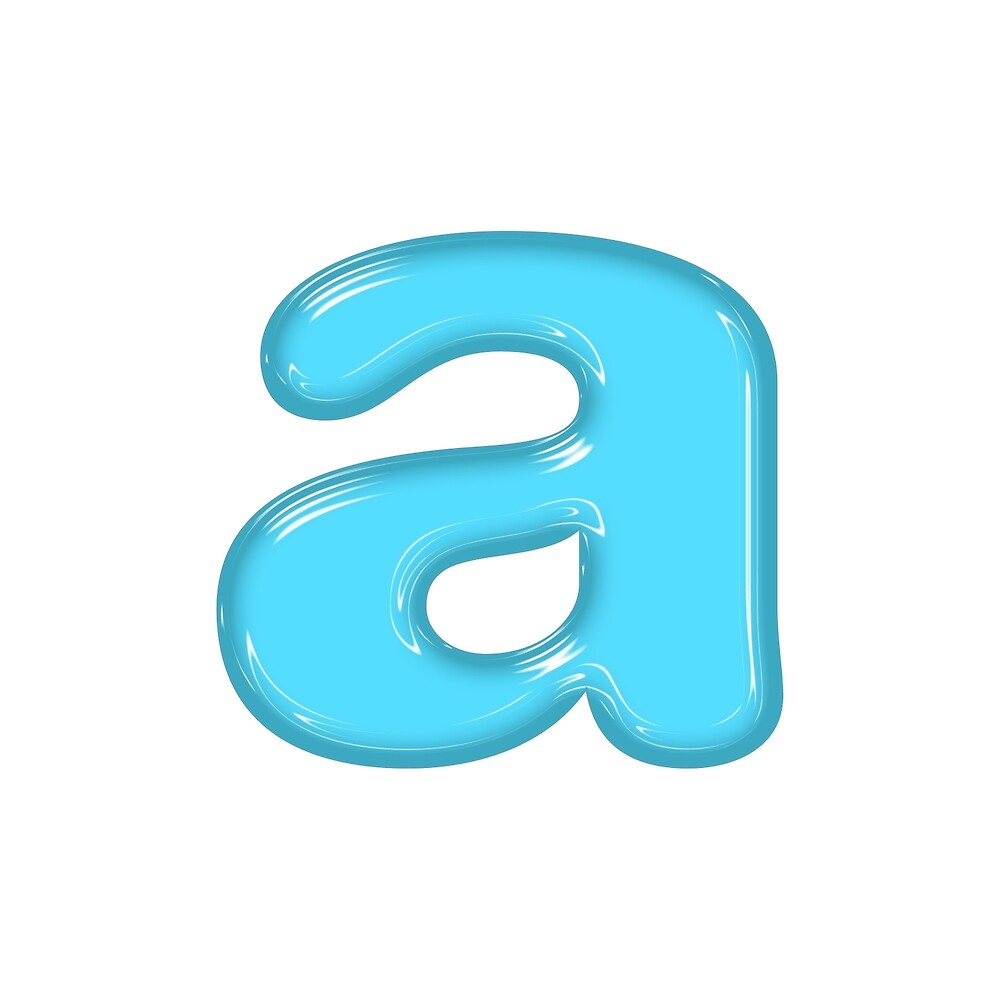 Plastic Letter A by Joshua Schweitzer