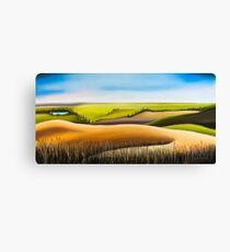 Konza Prairie Canvas Print