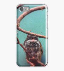 Funky Monkey (Emperor tamarin) iPhone Case/Skin