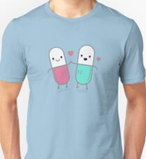 Funny Happy Pills  T-Shirt