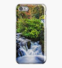 Shack by the falls iPhone Case/Skin