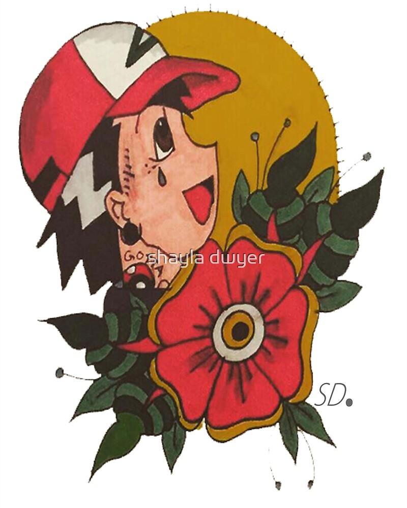 Pokémon Tattoo Flash by shayla dwyer