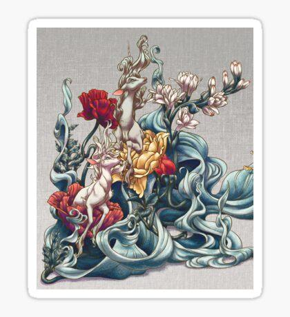 Unicorn Graden Sticker