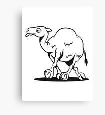 Camel funny funny Canvas Print