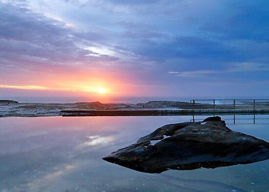 North Curl Curl Rock Pool by Nicholas Blackwell