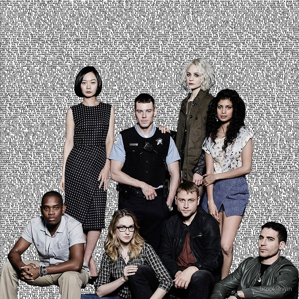 i am also a we - Sense8 by brooklevan
