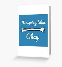 Funny Biology Science Pun  Greeting Card