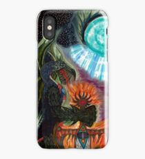Dragon King, Keeper of the Mourning Star Blade iPhone Case