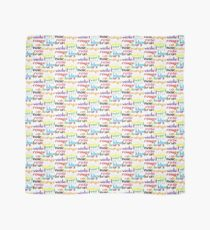 French colour words Scarf