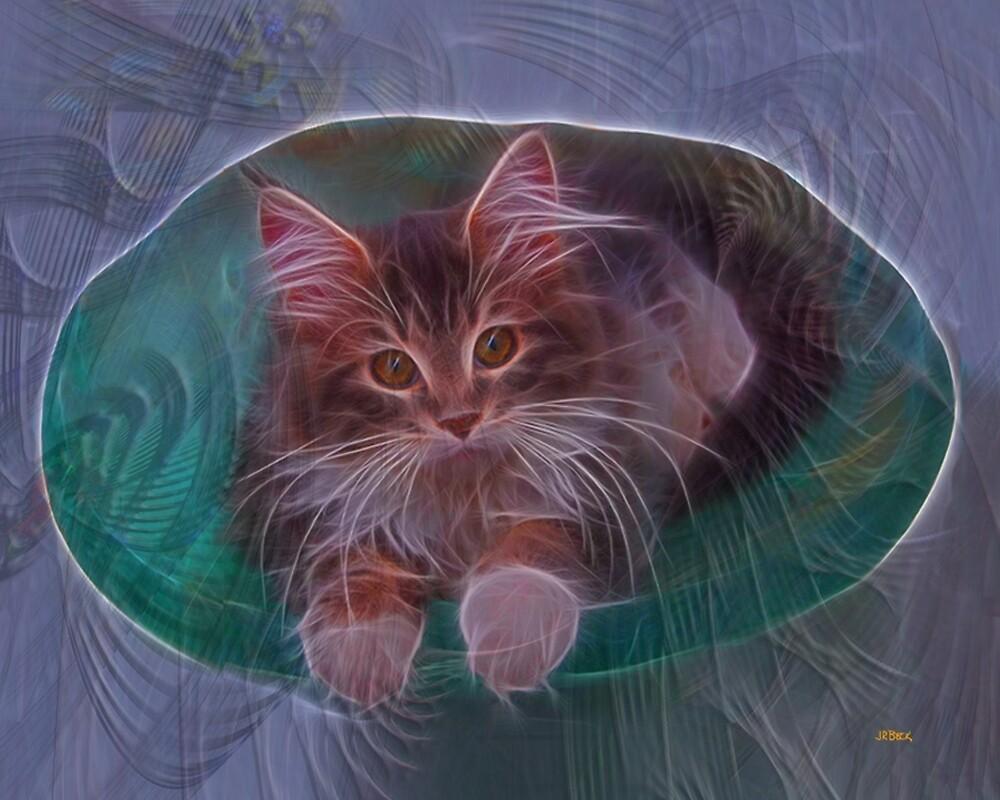 Bowl Of Fur - By John Robert Beck by studiobprints