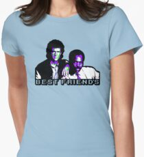 Best Friends - Never Too Old Womens Fitted T-Shirt