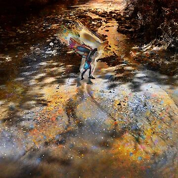 Falcon River Healing  by Ahjo