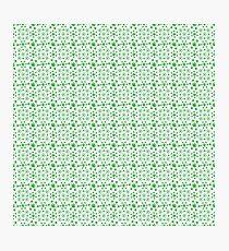 Marijuana Pattern Photographic Print