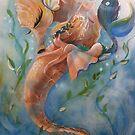 The Sleepy Seahorse by Robin Pushe'e
