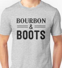 Bourbon and Boots Unisex T-Shirt