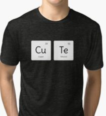 Cool Period Table Science  Tri-blend T-Shirt