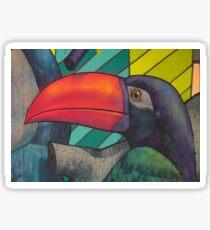 Graffiti Toucan  Sticker