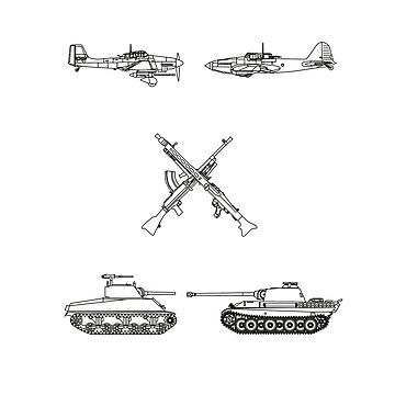 Military History Visualized - Planes, Tanks & Icons by mhvis