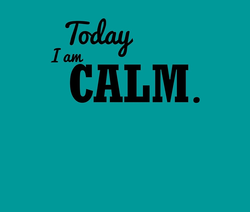 Today I am COLOUR: CALM by todayiam