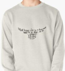 Corrie ten Boom quote bird shape prayer to the soul Pullover