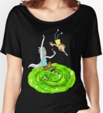Rick and Morty - Portal Women's Relaxed Fit T-Shirt